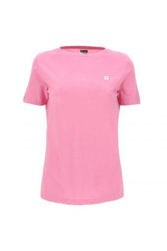 Camiseta de manga corta de tejido de punto light con estampados traseros