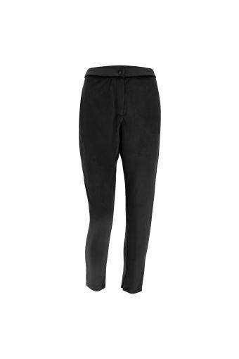 Komfort-Hose aus Chenillestoff mit schmal zulaufendem Bein