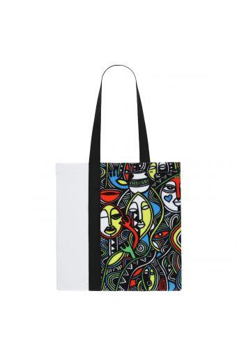 Neoprene shopper - Laolu NYC Women's Collection