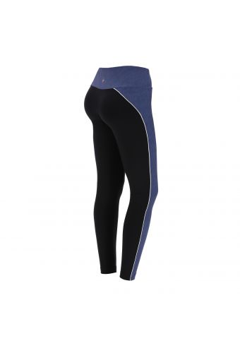 Yoga leggings in stretch jersey and denim 100% Made in Italy