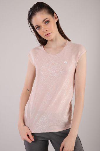 T-Shirt für Yoga aus biobasiertem Jersey 100% Made in Italy