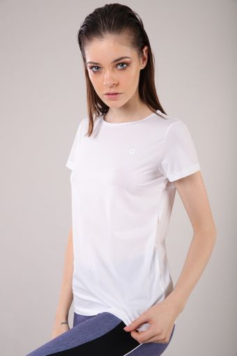 Yoga T-shirt in jersey open in back 100% Made in Italy