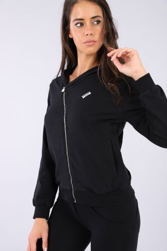 WR.UP®-IN brushed fleece hoodie tracksuit with sculpting trousers