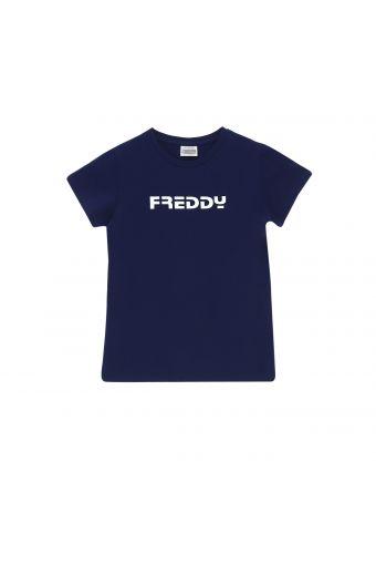 Camiseta con estampado Freddy minimalista - Niña 6-8 años