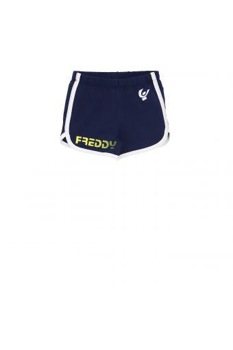 Shorts stile runner con logo gradiente - Bambina 6-8 anni