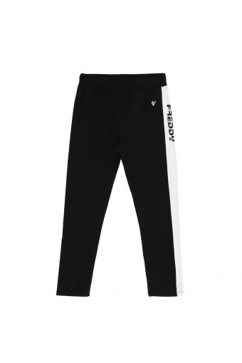 Athletic trousers with a band and Freddy lettering - Girls 10-16