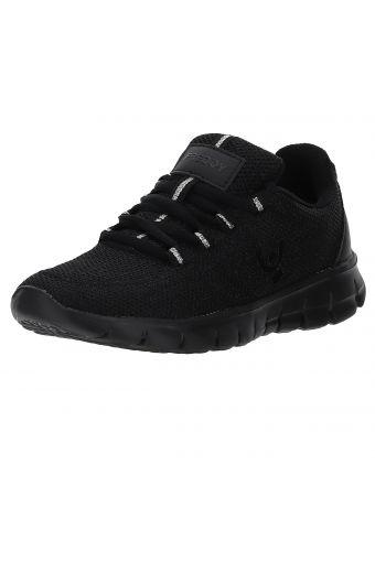Plain colour ultralight breathable mesh sneakers