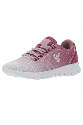 Ultralight breathable ombré-effect mesh sneakers