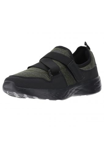 Women's slip-on shoes with a Velcro strap