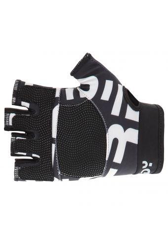 Rutschfeste Fitness-Handschuhe für Damen mit Maxi-Strukturlogo