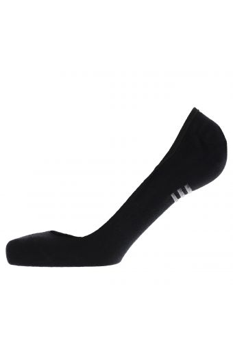 No-show socks with non-slip inserts
