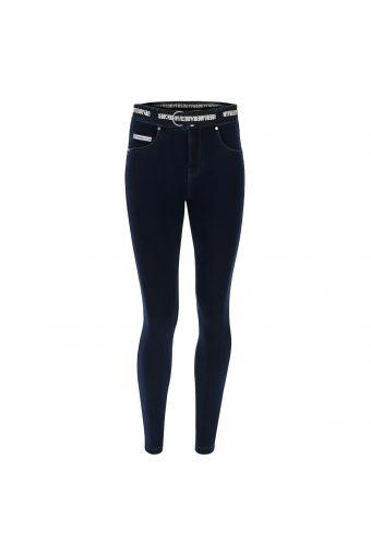 N.O.W.® Pants pantalón de corte slim efecto denim con bajo estrecho