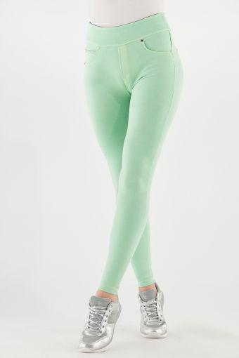 N.O.W.® Pants Yoga skinny colorati