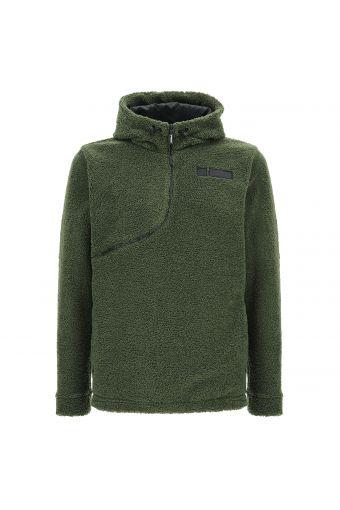 Polar fleece PRO Curve sweatshirt with a drawstring hood
