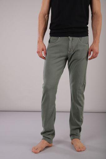 Pantalón largo de felpa francesa y soporte anatómico