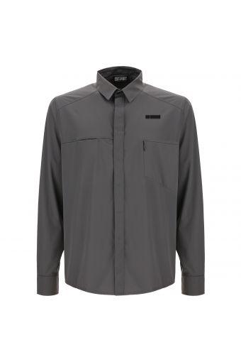 Camisa M/L con inserciones transpirables