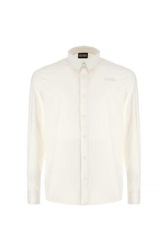 PRO Shirt - Camisa de popelina elástica con tratamiento especial antiolor y bolsillo con cierre de cremallera