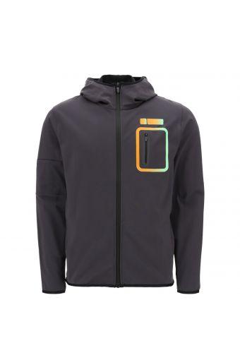 PRO Sweat hoodie with dégradé inserts