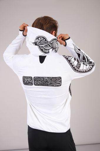 Zip hoodie Laolu Senbanjo