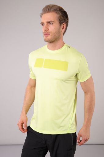 Hi-tech S/S t-shirt with D.I.W.O® treatment