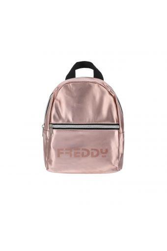 Petit sac à dos en nylon métallisé