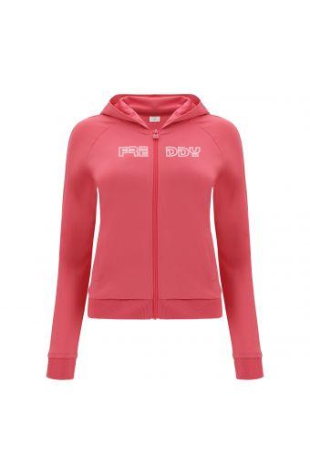 Sweat-shirt de sport à capuche pour fille avec imprimé Freddy