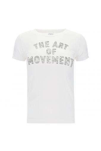 Tee-shirt de sport pour fille avec imprimé