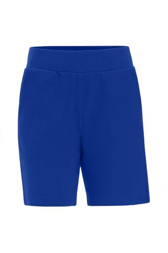 Bermuda-Hose mit Taschen und geripptem Taillenbund