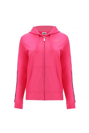 Lightweight hoodie with sequins