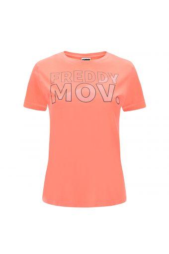 T-shirt with a FREDDY MOV. print