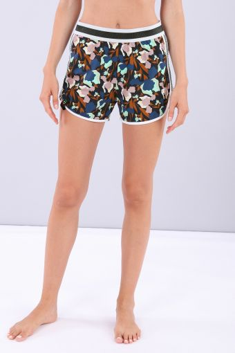 Women's yoga shorts - 100% Made in Italy