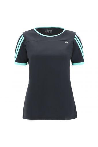 T-shirt en jersey avec inserts colorés en contraste