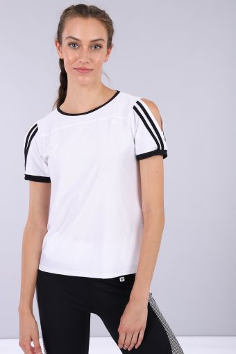 Womens yoga t-shirt in jersey -100% Made in Italy