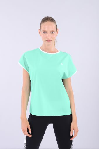 Women's ecological fabric yoga t-shirt - 100% Made in Italy