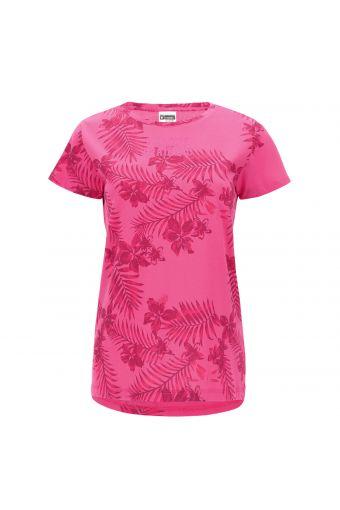 Camiseta con fantasía tropical y estampado de glitter FREDDY TRAINING