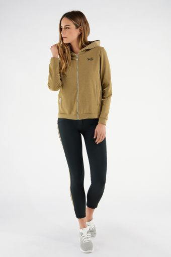 WR.UP®-IN tracksuit with ankle-length sculpting trousers and a lurex sweatshirt
