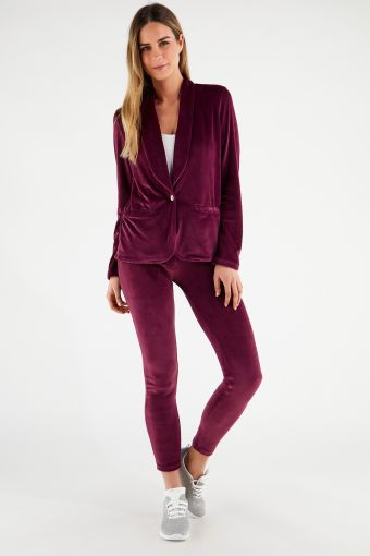 WR.UP®-IN - Chenille tracksuit with a blazer and WR.UP® skinny trousers