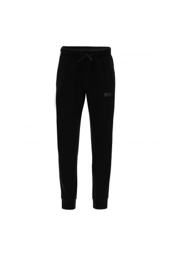 Slim fit joggers with tone-on-tone details