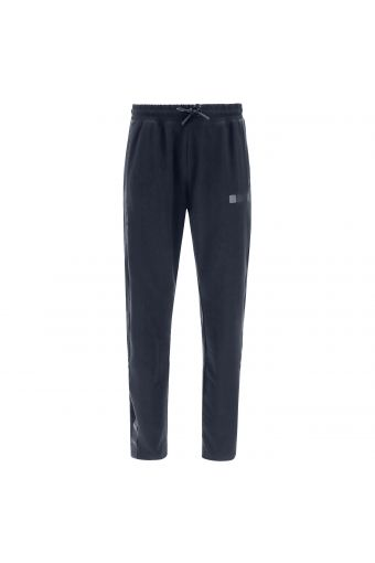 Pantaloni tapered monocolore con coulisse