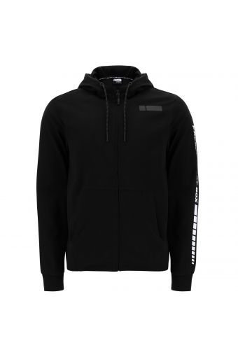 Hoodie with a FREDDY SPORT BOX print on the sleeve