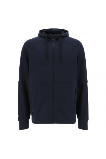 Lightweight hoodie with thumb holes