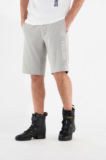 Melange grey FREDDY TRAINING Bermuda shorts