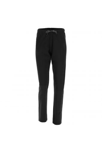 Sportliche Hose aus Interlock mit geradem Saum