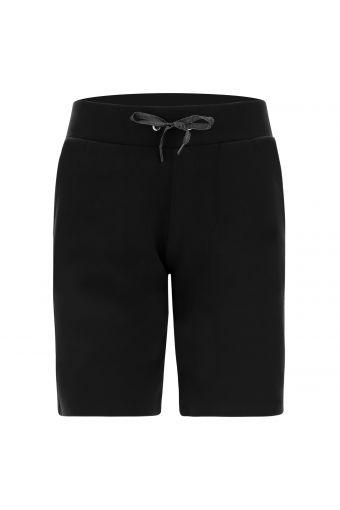 Sport-Bermuda-Hose aus Interlock mit Kordelzug