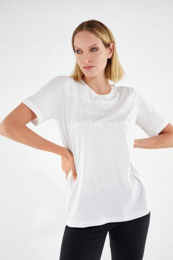 T-shirt coupe classique STRETCH YOUR MIND