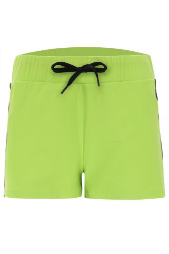 Stretch athletic shorts with lateral FREDDY MOV. bands