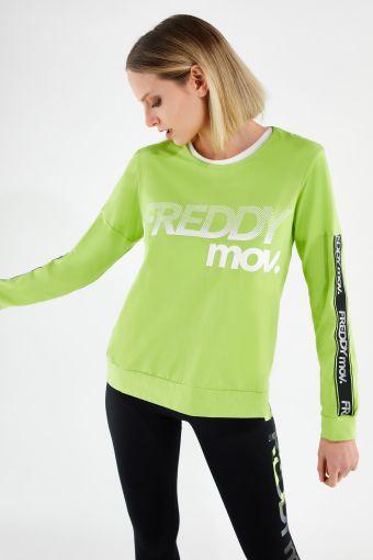 Fitness-Sweatshirt FREDDY MOV in Komfort-Passform