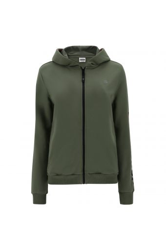 Zip-front FREDDY MOV. athletic hoodie