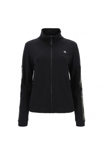 High neck FREDDY MOV. athletic sweatshirt with decorated sleeves