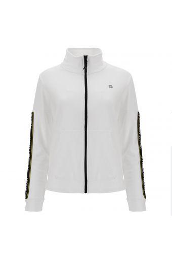 FREDDY MOV. Sweatshirt mit hohem Kragen und verzierten Ärmeln